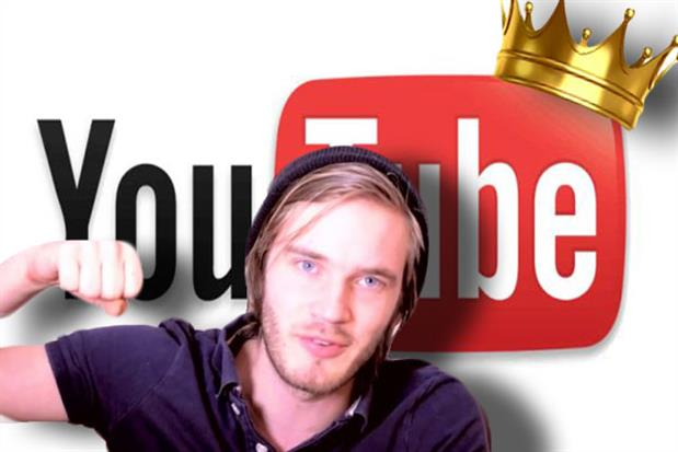 Top Swedish vlogger PewDiePie